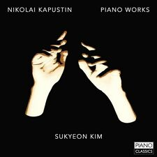 Kapustin / Sukyeon Kim - Piano Works [New CD]