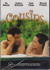 COUSINS - TED DANSON - ISABELLA ROSSELLINI  - DVD  NEW -