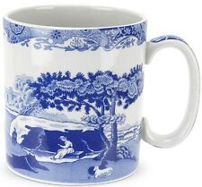 SPODE blue italien 4 mugs 0.25 Ltr / 9oz-Neuf / Emballé