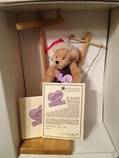 ANNETTE FUNICELLO BEARS ELFIE LIMITED EDITION MARIONETTE