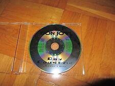 BON JOVI Dry Country - Radio Edit 1994 GERMANY collectors CD single (excellent)