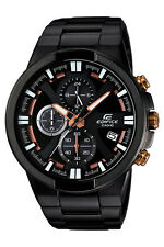 Edifice Chronograph Black Steel Mens Watch Efr544bk-1a9 100m WR
