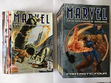 LOT 20 PANINI COMICS MARVEL LES GRANDES SAGAS MARVELS SPIDER MAN X MEN AVENGERS
