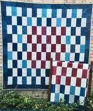JJ Stitches Quilt Pattern 1890's BARS Beautiful Colorful Makes a Memorable Gift