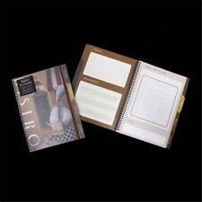 A4 172 Pg Meal Menu Planner Elastic Gift Book Diary Vintage Organiser - 4 Topics