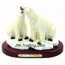 Amy & Addy The Gray Rock Collection Wildlife Polar Bear Couple On Iceberg Sculpt