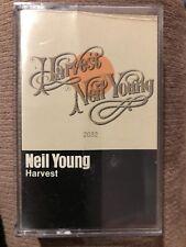 Neil Young -Harvest Cassette Tape Rock Pearl Jam Bob Dylan Crazy Horse Folk Pop
