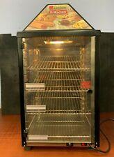 Wisco Food Warmer/Merchandising Cabinet Model 690-25, 2-Door, Tempered Acrylic
