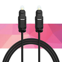 Cable Audio fibre optique numérique plaqué or SPDIF pour Xbox Blu-ray son HD