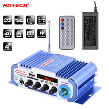 NKTECH HY-604 Car Audio Digital Amplificatore 4-45W Player MIC Karaoke Riverbero