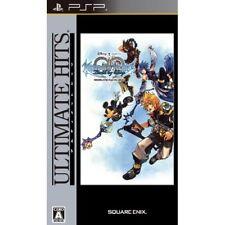 Used PSP Kingdom Hearts: Birth by Sleep Ultimate Hits Japan Import