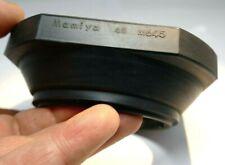 Mamiya 67mm Rubber Wide Lens Hood Shade slip on for 645 45mm f2.8 Sekor-C