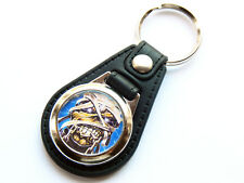 MUSHROOMHEAD Alternative Metal Band Quality Leather and Chrome Keyring