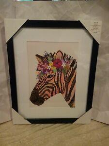 Zebra Portrait Horse Modern Art