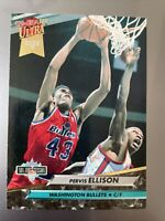 1992-93 Ultra Washington Bullets Basketball Card #207 Pervis Ellison JS