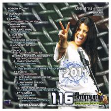 Mr Entertainer MRH116 18 Chart Karaoke Backing Tracks CDG CD+G Disc Volume 116