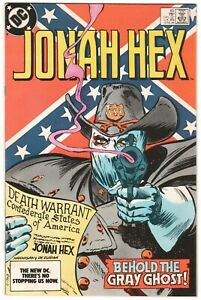 Jonah Hex #85 ~ DC 1984 ~ Behold the Gray Ghost! NM