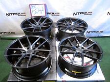 "19"" Niche M130 Targa Concave 2010-15 BMW 525 528 535 550 DDT Black Wheels W624A"