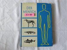 DDR Schulbuch Der Mensch Biologie 1967 Volk u. Wissen Volkseigener Verlag Berlin