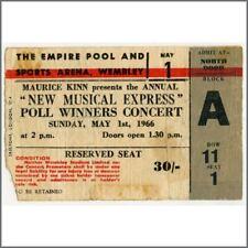 The Beatles 1966 NME Poll-Winners Concert Ticket Stub (UK)