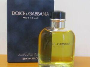 Dolce & Gabbana Pour Homme 4.2 oz / 125 ml After Shave Lotion Splash