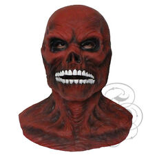 Halloween Death Skinless Skull with Chest Horror Dress Up Latex Party Prop Masks
