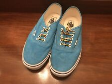 ⭐️ VANS Era Blue Green Turquoise TC9R Men's Canvas Trainers OFF THE WALL 10.5 ⭐️