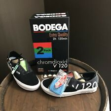 Vans x Bodega Authentic Blank Tape 📼 Shoes Size 10 Mens Black White Red Green