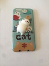 iPhone 6, 6S Case Squishy Cat Brand New Free Postage UK Seller