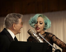 Lady Gaga and Tony Bennett UNSIGNED photograph - M2866 - NEW IMAGE!!!