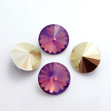 hot 50PCS Resin Rhinestones Rivoli Beads 10mm Multicolor Wholesale