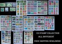 A Great Stamp Collection From The United States, All Different Free Shipping