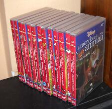 Raccolta 13 Dvd IL MONDO DEGLI ANIMALI Walt Disney Collezione Serie magico