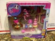 Rare NEW Littlest Pet Shop Playset Sweet Celebration 3290 3289 3291