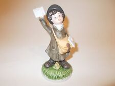 Homco #1435Aa Figurine- Mail Carrier
