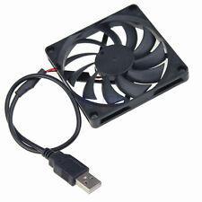 5V PC USB Lüfter 8cm 80mm x 10mm USB Brushless Lüfter Cooling Cooler FAN