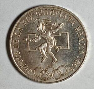1968 Mexico Silver 25 Pesos Circ 187115D