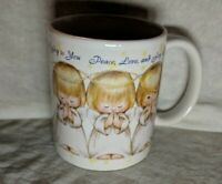 Hallmark Peace Love And Joy To You Coffee Mug Houston Harvest Gift Productions