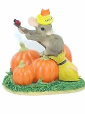 MIB Charming Tails THE GOOD WITCH 85/704 Mouse Pumpkins Figurine Fitz & Floyd