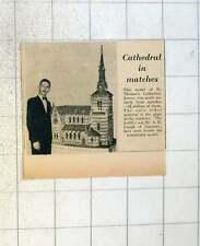 1955 St Thomas Cathedral Jersey 4 Million Matchsticks A H Gough Guernsey