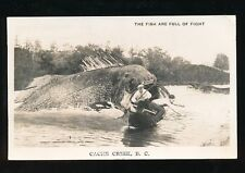Canada BC CACHE CREEK Fishing RP PPC Used 1952