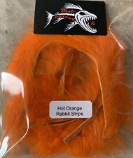 Hot Orange Rabbit Strips 3mm