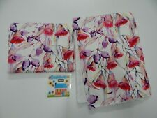 Floral Burp Cloths Gumnut Blossoms 2 Pack Toweling Backed GREAT GIFT