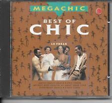 CD BEST OF 8 TITRES--CHIC--BEST OF CHIC / LE FREAK - MEGACHIC