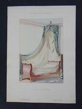 LA TENTURE FRANÇAISE 1904 - Lit de coin Empire - Ameublement décoration 41