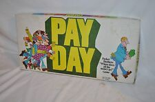 1975 PAY DAY  complete PARKER BROTHERS  BOARD GAME VINTAGE FUN USA