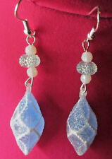 Unique Gumdrops,CANDY Beaded 925 EARRINGS CHRISTMAS Handcrafted BLING nora winn