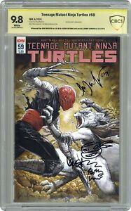 Teenage Mutant Ninja Turtles #59B CBCS 9.8 SS 2016