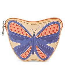 NEW Relic Butterfly Change Purse W/ Key Chain Caraway Zipper Coin Purse