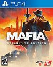 Mafia Definitive Edition PS4 (PlayStation 4, 2020) BRAND NEW